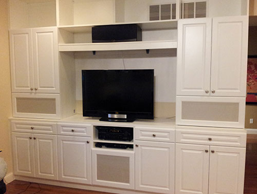 Elegant Beyond Storage Carries A Variety Of Custom Cabinets And Adjustable Shelves  To Perfectly Fit Your TV, Electronics And Movies. Knowing Every Family Is  Unique, ...