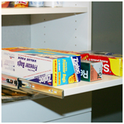 Pull-out drawers - Beyond Storage Closets, Pantries