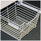 Beyond Storage   St. Louis Closet Company, White Wire Baskets For Closets